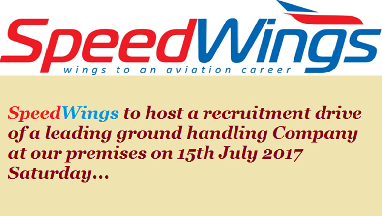 SpeedWings to host a recruitment drive
