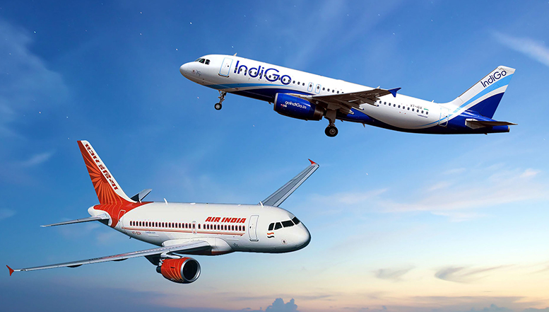 IndiGo, Qatar Airways to make a joint bid for Air India